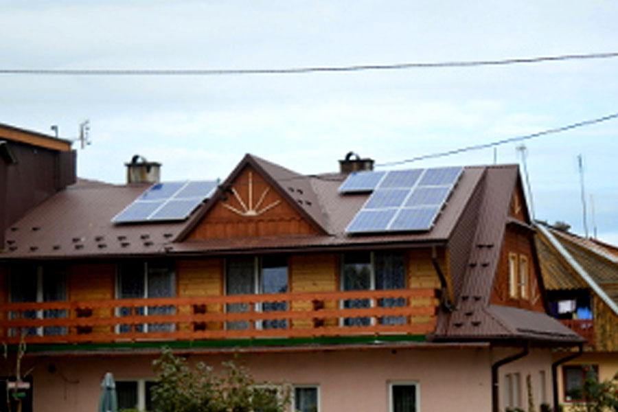 Bukowina Tatrzańska, 33 instalacje o łącznej mocy 112 kW – 2014